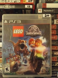 Sony PS3 LEGO Jurassic World case Vaughan, L4L 6Z5