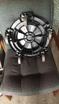 Round black and white caster wheel pick up only  Vaughan, L4L 6P5