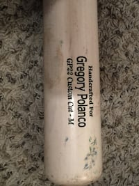 Gregory Polanco game used bat 2015 season.