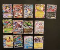 Lot of Ex and One Gx Cards