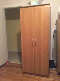 brown wooden 2-door cabinet Montréal, H1H 5B1