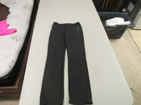 Girls Black Xersion Pants Size Large