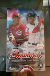 2018 Bowman Baseball Jumbo Box Factory Sealed Vaughan, L4J 8A8