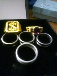 6 diffrent size rings from 7 to 12 Logan, 84321