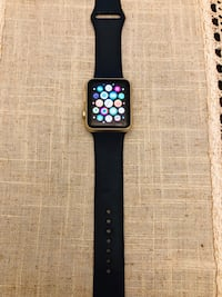space black aluminum case Apple Watch with black sport band Rockville, 20850
