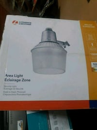 Brand new Area light w/bulb
