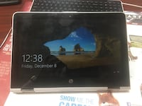 Black hp convertible laptop x