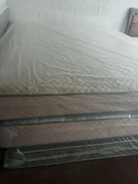 gray and black bed mattress Opa-locka