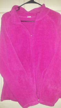 pink v-neck long sleeve shirt Corbin, 40701