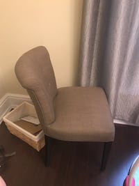 2 accent chairs 100 each Toronto, M6J 1P6