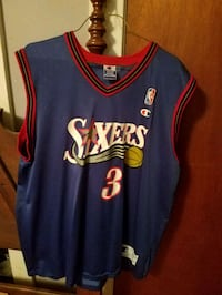 blue and red Los Angeles Lakers jersey Perkasie, 18944