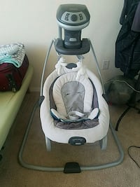 Used Graco Duet Swing and Rocker (As is) Alexandria, 22304