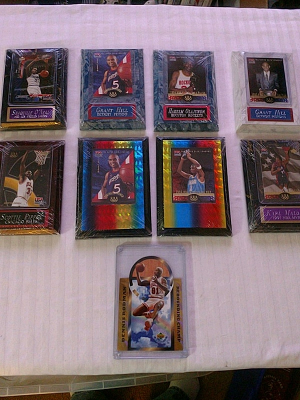 USA Olympic Basketball 17 Mounted Mint Cards