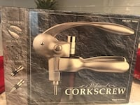 Professional corkscrew- new in box with wrap