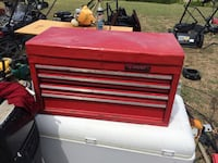 red and black Craftsman tool chest Leander, 78641