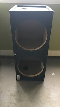 Black and gray speaker system Greenville, 29609