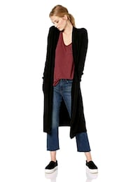 Good hYOUman Women's Long Cardigan Cypress, 90630
