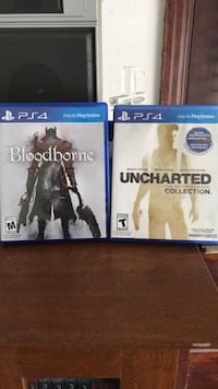 Ps4 BloodBorne and Uncharted Collection