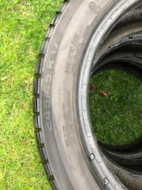 245/45R17 Continental Winter Tires x 3 Markham