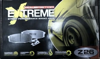 Power Stop Z26-536 - Z26 Extreme Performance Carbon-Ceramic Brake Pads