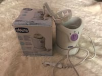 Chicco baby bottle and food warmer for use at home and in the car Suitland, 20746