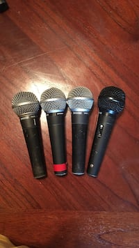4 Used Microphones Houston, 77066
