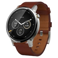 Motorola 360 Watch (2nd Gen) - Mens 42mm Oslo, 0250
