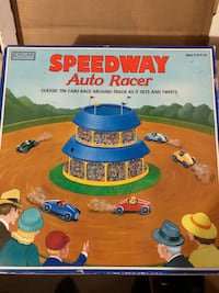 Collectible speedway auto racer Stow, 01775