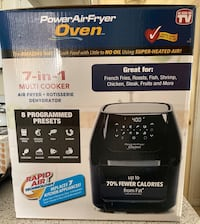 NEW Power AirFryer Oven
