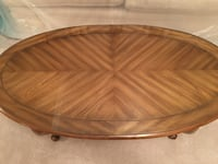 Wood and glass coffee table Rockville, 20853