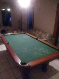 brown wooden framed pool table Port St. Lucie, 34983