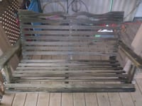 Wood porch swing.very nice condition.  Rockwell, 28138