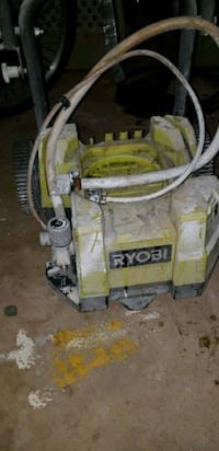 yellow and gray portable generator Clifton, 20124