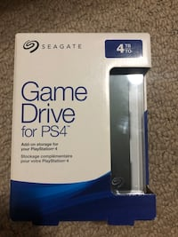 4TB Game Drive for PS4 Pickering, L1V 5Y4