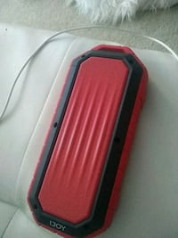 black and red portable speaker Chantilly, 20151