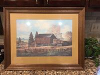 Russell May Signed Print Kentucky Club 28 x 21