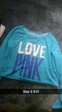 blue and white Pink by Victoria's Secret sweater Loudonville, 44842