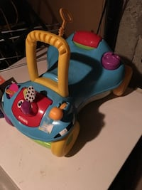 Baby's blue and orange fisher price walker Cambridge, N1R 5C9