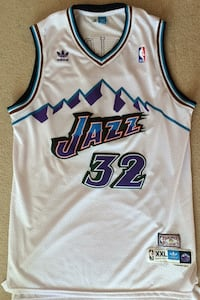 Adidas Utah Jazz Karl Malone authentic jersey *stiched  Coquitlam