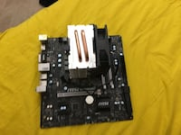 I5 6600 MSI B150M MOTHERBOARD WITH CPU COOLER Bristow, 20136