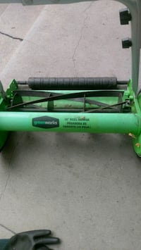 Greenworks 16in reel mower Los Angeles, 90065