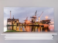 "Have an extra 12x24 metallic print of one of my photos, mounted on 3/16"" gatorboard and printed on  Kodak Professional Endura Premier Metallic Paper.  $40.  A closer look at that photo, the Domino Sugars Factory in Baltimore, along with some other additio Severn, 21144"