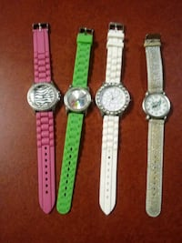 Four Watches for Sale.