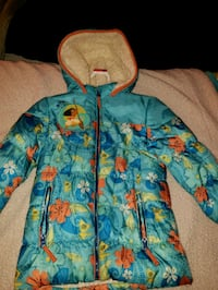 Kids Moana jacket size 5/6 not negotiable  Paramount, 90723