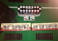 Official World Series of Poker Set Table Chips Cards Tumblers Ocean Springs, 39564