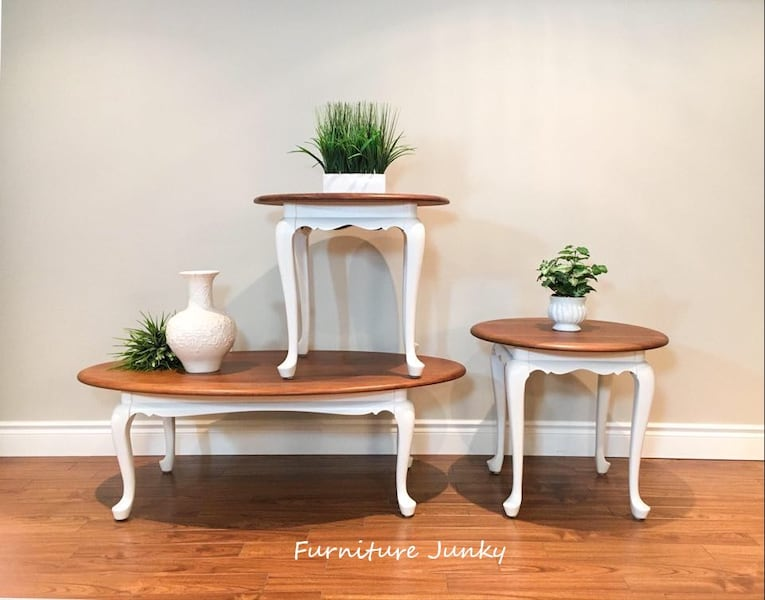 Gibbard Oval Coffee Table and End Tables a99f77bd-c60b-4900-bb1a-234100e83cbe
