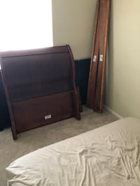 2 twin size sleigh beds with mattress  Charlotte, 28105