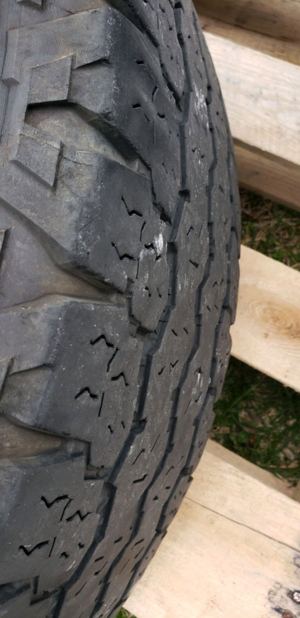 """Factory 2018 18"""" ford f250 wheels and tires  2f673f2c-3cee-4d9e-8260-ee29e6fbcb7b"""