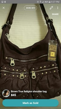 Brand new purse with tag and dustbag Edmonton, T6L 6L7