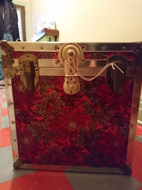 Red Storage Chest - $75 TORONTO